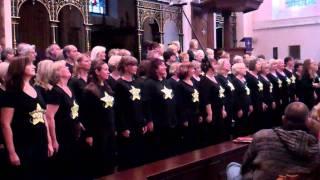 Walking on broken glass Farnham Rock Choir Holy Trinity Church 27/11/11