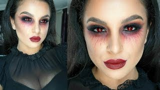 Vampire Halloween Makeup Tutorial 2015 | Makeup By Leyla