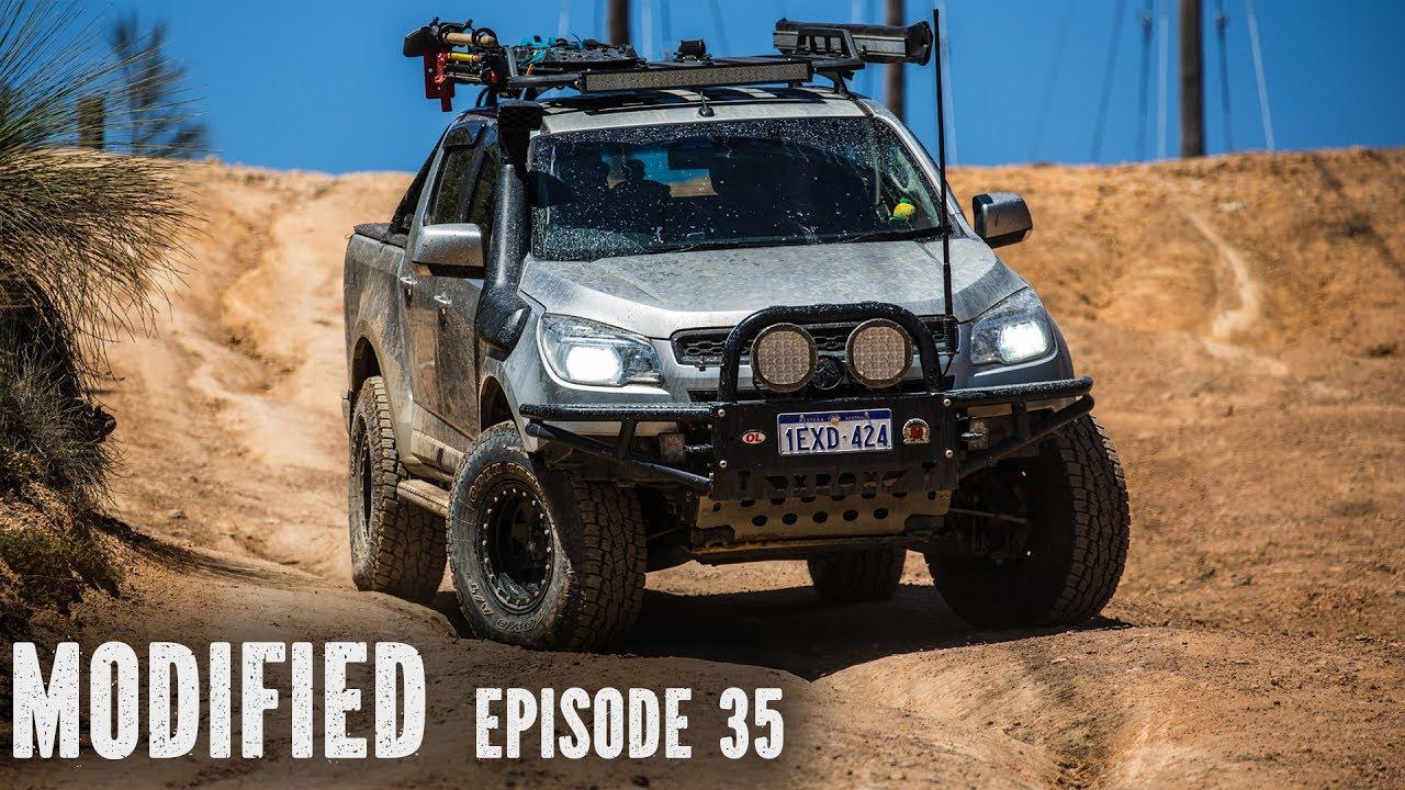 RG Holden Colorado, Modified Episode 35 - YouTube