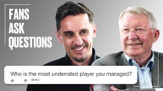 Gary Neville Puts Fan Questions To Sir Alex | FAQs | SPORTbible | @LADbible TV