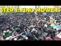 How to Make Money Selling Lawnmowers - Part 1