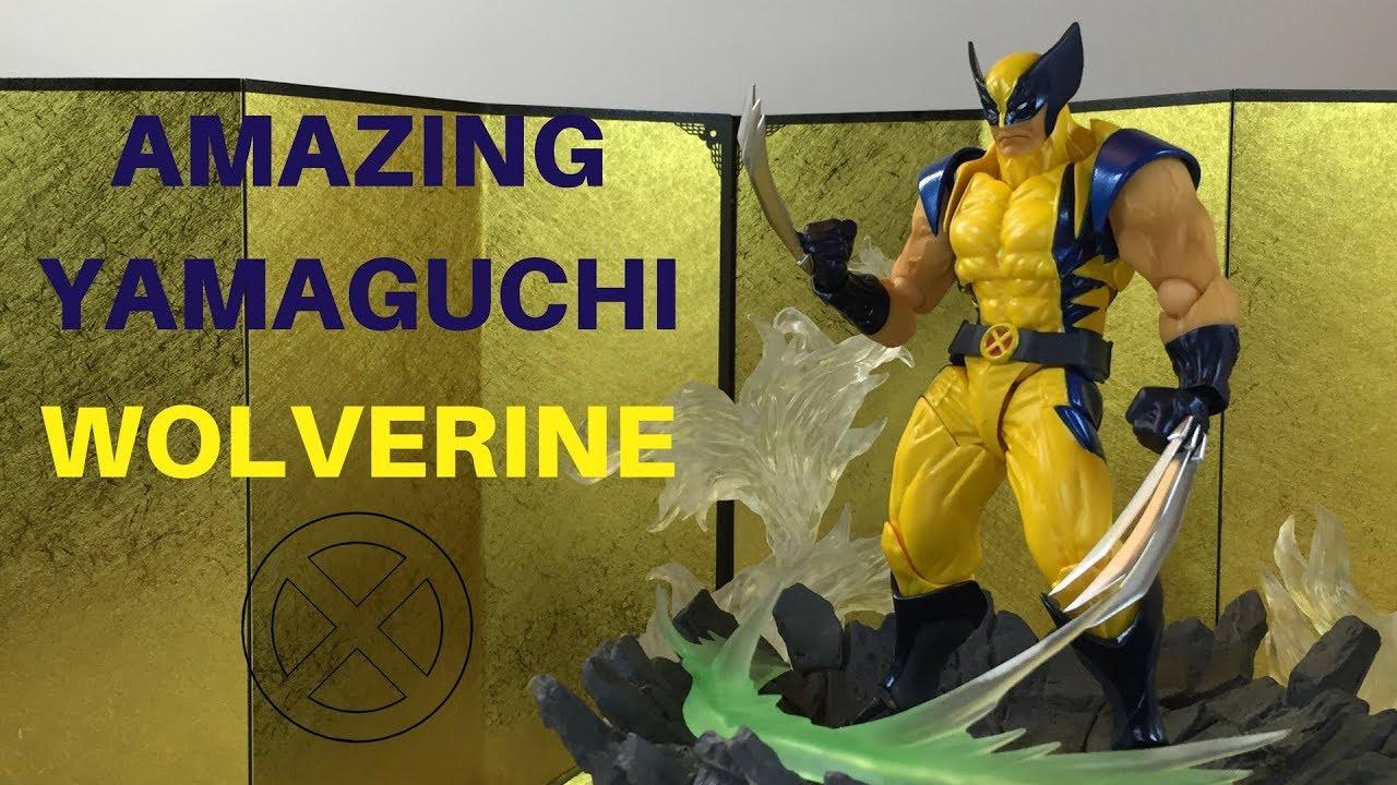 Kaiyodo No.005 Marvel X-Men Wolverine Amazing Yamaguchi Action Figures  Toy