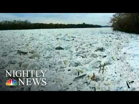 Ice Jams Trigger Flooding, Dangerous Conditions | NBC Nightly News