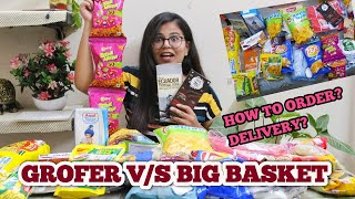 GROFERS V/S BIG BASKET | BEST ONLINE GROCERY STORE?? | HOW TO ORDER , MANY MORE THINGS TO KNOW !! screenshot 4