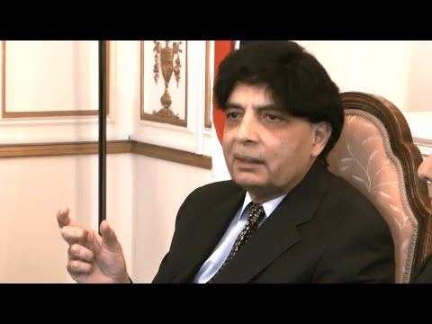 Chaudhry Nisar's briefing on Pakistan's efforts to end terrorism and extremism from Pakistan