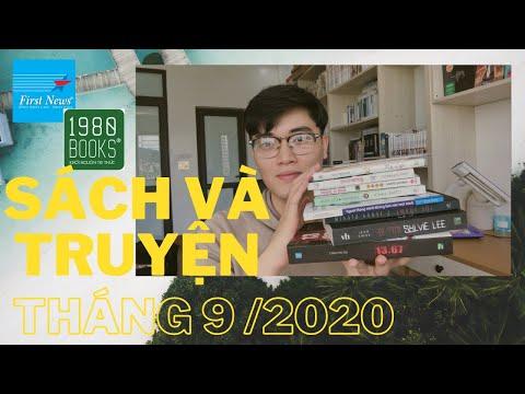 #55   Review Sách - Truyện Tháng 9/2020   Review Sách Tổng Hợp   BOOK REVIEW