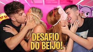DESAFIO DO BEIJO - CASAL (KISS CHALLENGE) ft. Ujoaozinho, Viihtube e Magri