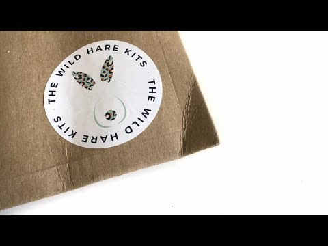 The Wild Hare Kit Unboxing with Kira:  August kit