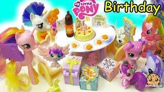 My Little Pony Princess Cadance, Shining Armor , Baby Flurry Heart Birthday + Surprise Blind Bags