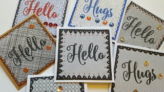 JUNK MAIL MINI CARDS | PAPER CRAFTING