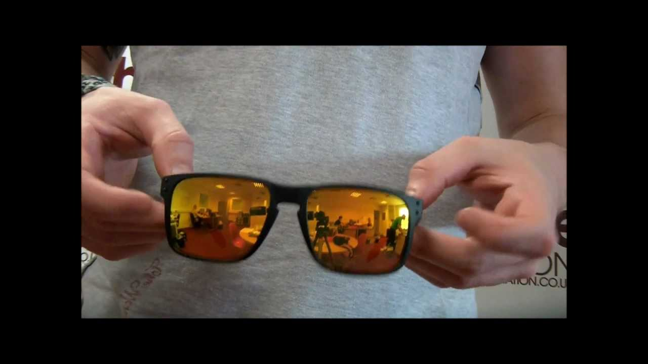 c70ed152d2 Oakley Fire Collection Holbrook Sunglasses Review - OO9102-27 - YouTube