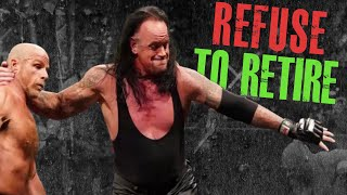9 WWE Wrestlers Who Are TOO OLD (Way Past Their Prime) & DESPERATELY Need to Retire