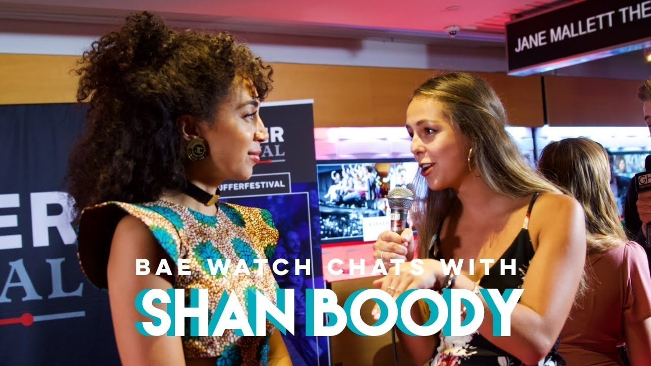Interview with Shan Boody - Buffer Festival 2018 (Red Carpet)