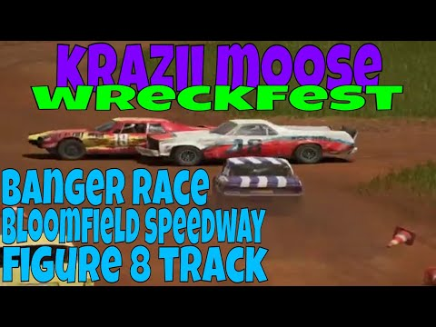 Wreckfest Banger Race Bloomfield Speedway Figure 8 HD