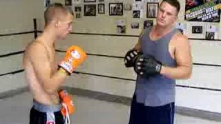Modified Boxing Striking Training Workout For MMA.