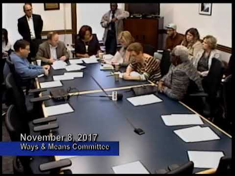 Ways & Means Committee   November 8, 2017