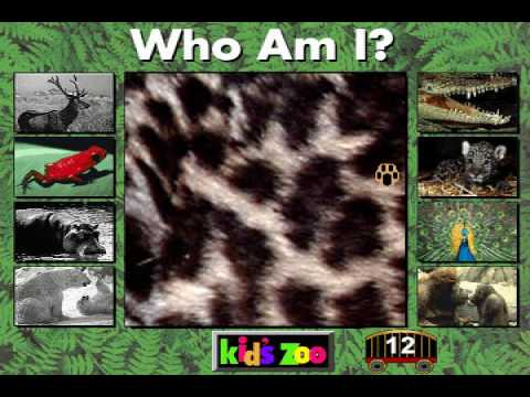 Who Am I? from Kids Zoo A Baby Animal Adventure MS-DOS/Packard Bell Version