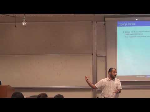 Koç Üniversitesi - Barış Coşkunuzer Geometrik Topoloji ve Bir Milyon Dolar