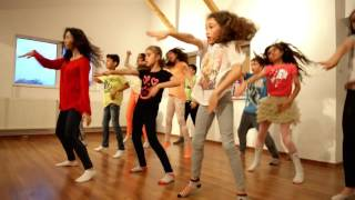 Soy Luna - coregrafie Alas, cu Andra Gogan (Din culise)