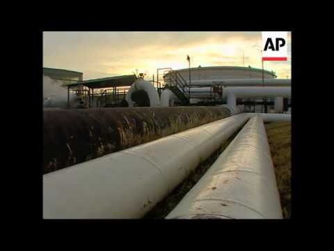 Oil supplies run low in wake of Russia, Belarus row