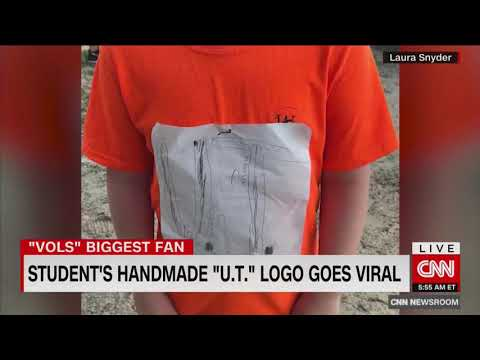 University of Tennessee releases new shirt based off design of bullied Florida boy