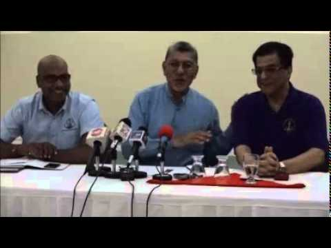 Movement for Social Justice & Democracy Watch Press Conference July 5, 2015 - Trinidad