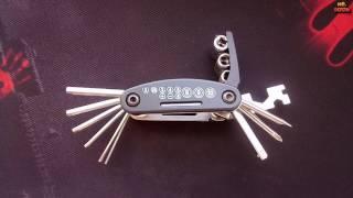 Универсальный велосипедный комбинированный ключ НАБОР ШЕСТИГРАННИКОВ за 3$ с АЛИЭКСПРЕСС