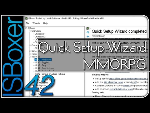 ISBoxer 42 — Quick Setup Wizard — MMORPG (MMO Standard)
