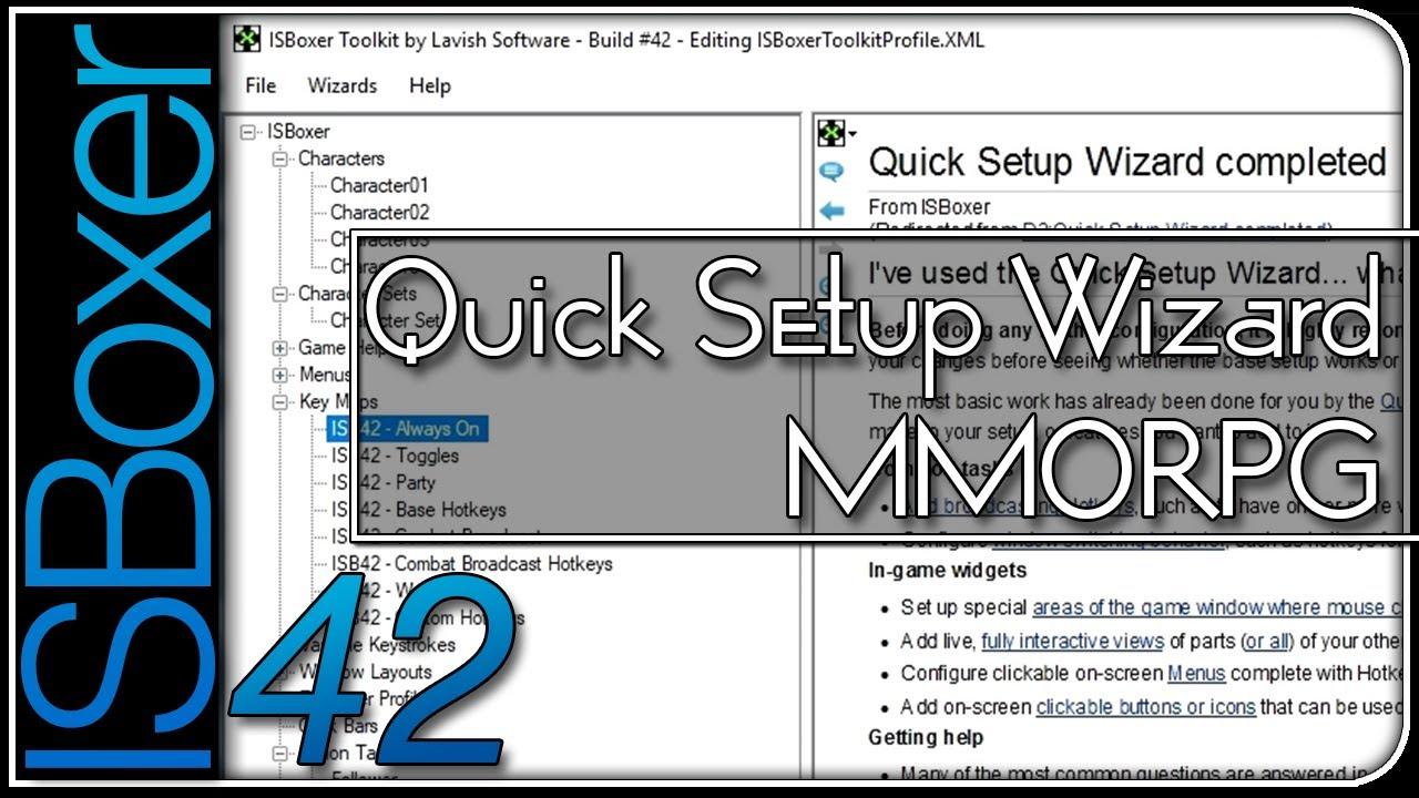 ISBoxer 40 World of Warcraft Macro Library by Multiboxology
