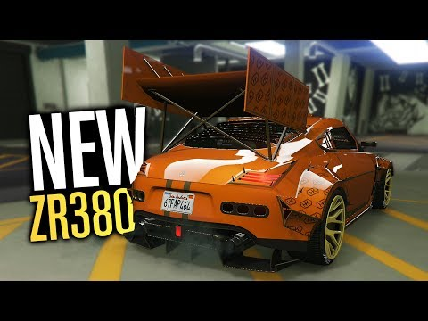MASSIVE WANG NEW ZR380 Customization! | GTA 5 (Arena War)