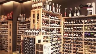 Les Casiers d'Antan - Classement des bouteilles à l'unité.