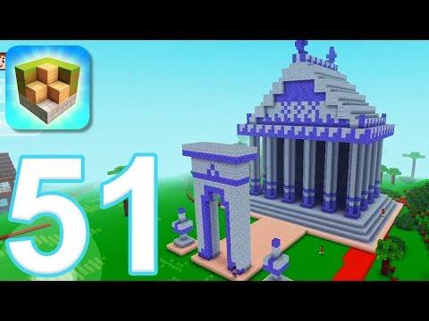 Block Craft 3D: City Building Simulator - Gameplay Walkthrough Part 51 - Zucropolis (iOS) - 동영상