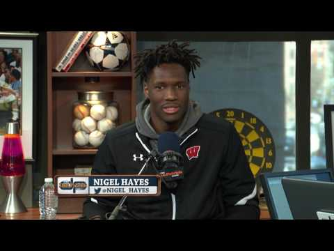 Nigel Hayes on The Dan Patrick Show (Full Interview) 3/23/17
