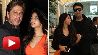Suhana khan bollywood debut | shahrukh khan instruction to karan johar