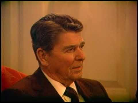 BBC Interview of President Reagan for documentary on Prime Minister Thatcher on January 7, 1985