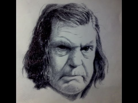 Anne Ramsey Time Lapse Drawing