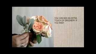 Чудесный свадебный букет из роз для невесты своими руками (свадебная флористика).(Ищите мастер класс, школу или курсы по флористике? Хотите научиться делать композиции из цветов своими..., 2014-12-20T07:19:32.000Z)