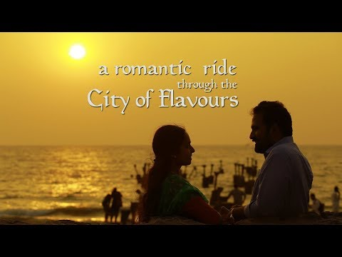 Honeymoon @ Kozhikode :: Swaroop + Anagha (Wedding Outdoor shoot based on Restaurants)