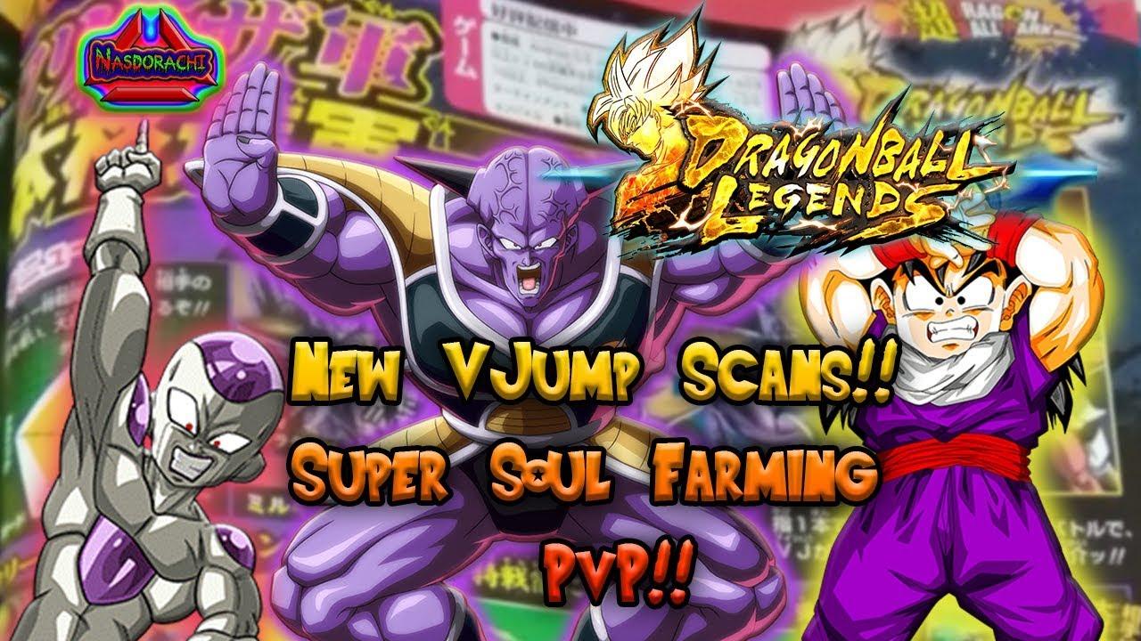 New Sparking V Jump Scans Super Soul Farming Top Rank Pvp