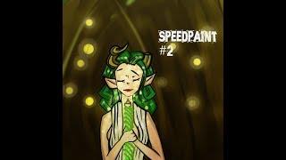 Урок рисования   Speedpaint   Обитательница леса
