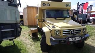 Mercedes off road expedition camper by Orange Work
