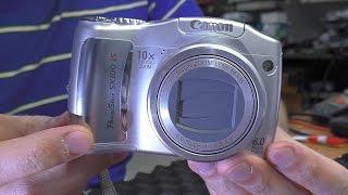 ЭЛЕМЕНТАРНОЕ. Фотокамера Canon SX100 IS. Не включается(Суперклей и сода продаются в ближайшем продуктовом магазине или супермаркете. Инструмент и расходники..., 2016-05-29T08:00:01.000Z)