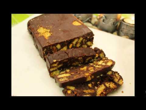 Chocolate Biscuit Cake Recipe Condensed Milk - YouTube