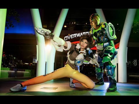 OVERWATCH COSPLAY @ ANIME EXPO 2016