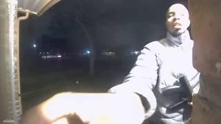 Man with gun caught on residents camera ringing doorbell