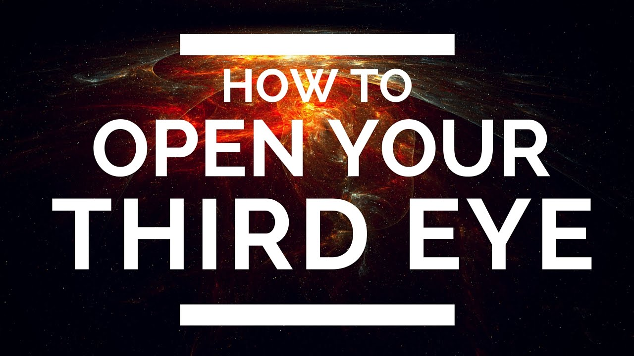how to close your third eye