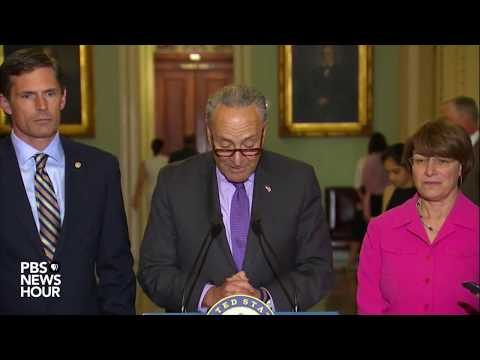 Senate Democratic Leaders discuss healthcare