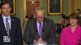 Senate Democratic Leaders discuss healthcare