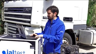 JALTEST CASE STUDY | Change of filters of the AdBlue/DEF module in a DAF XF105 vehicle