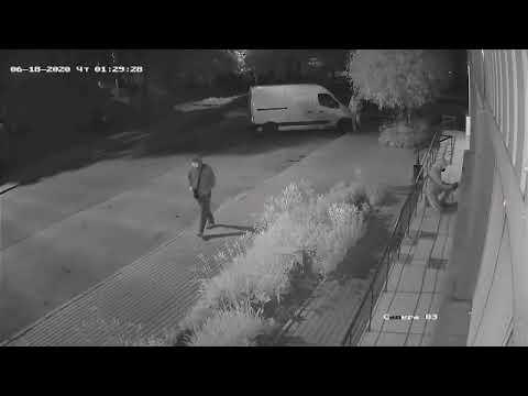 Видео погрома офиса Шария в Мариуполе